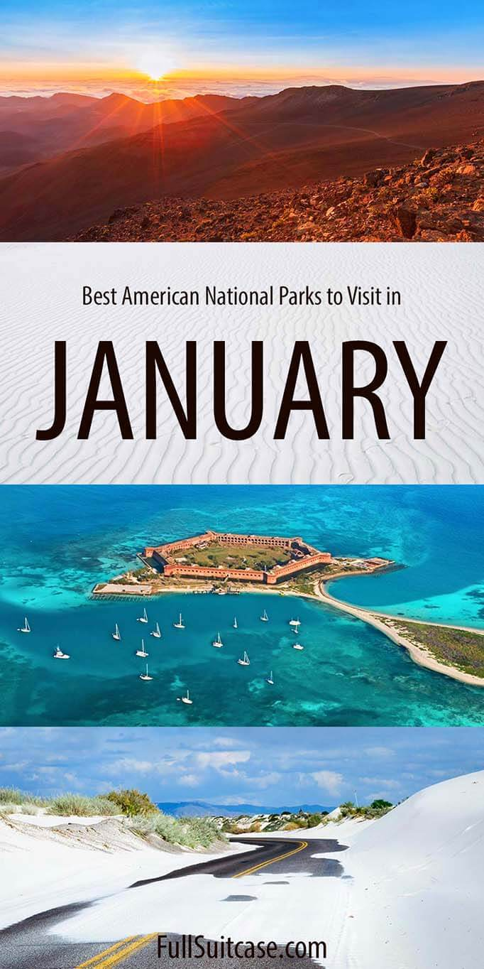 Best American National Parks to visit in January
