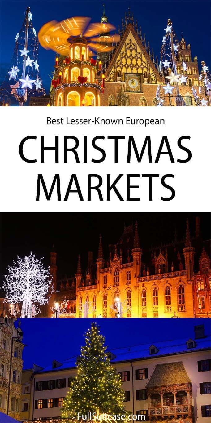 Best Christmas markets in Europe that are lesser known