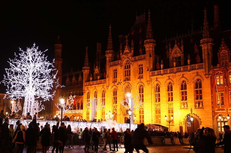 Best hidden gems Christmas markets in Europe - Bruges Belgium