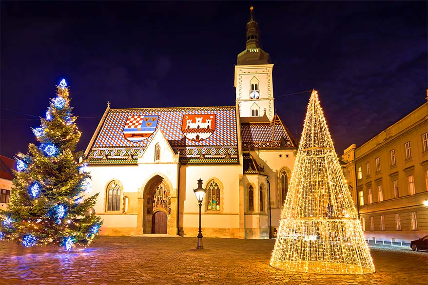 Best lesser known Christmas markets in Europe - Zagreb Advent