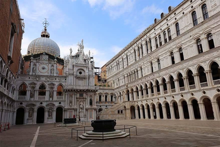 Doge's Palace Courtyard