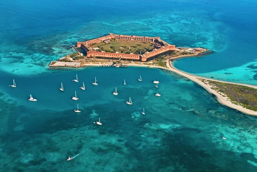 Dry Tortugas in January