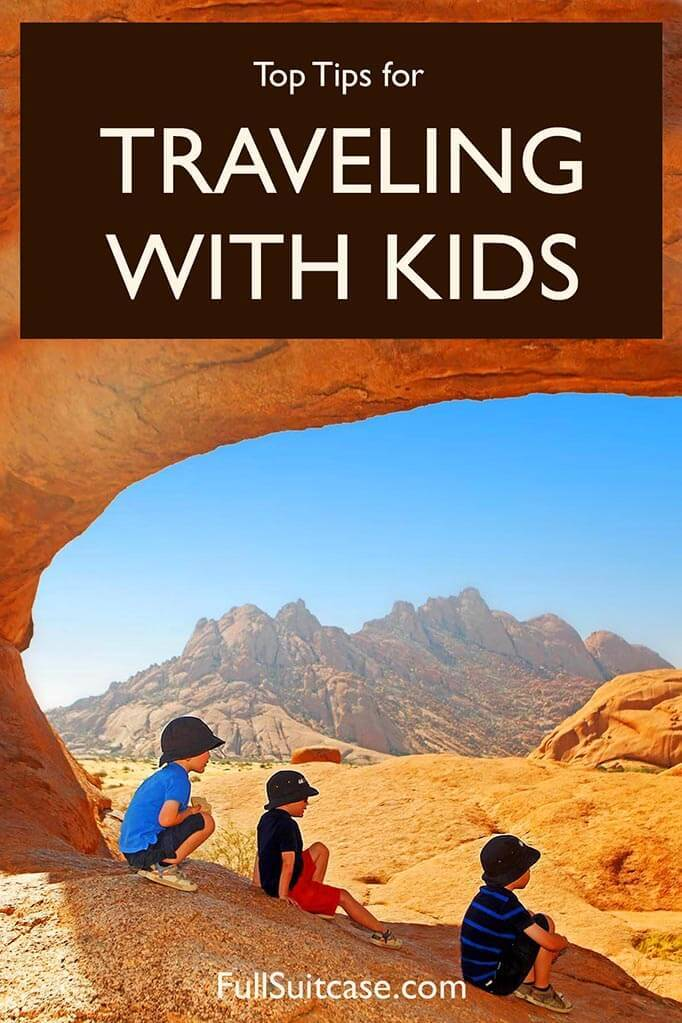 Essential tips for travelling with kids