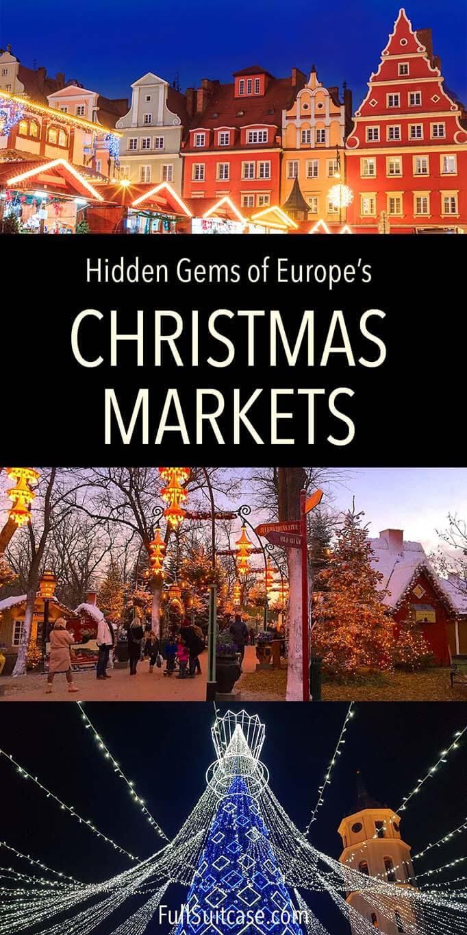 Hidden gems Christmas markets in Europe
