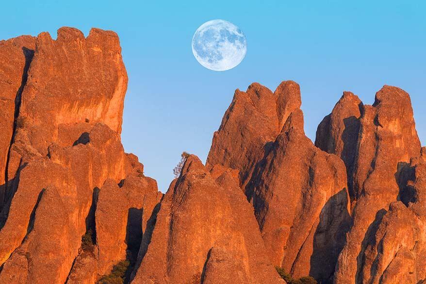 High Peaks at Pinnacles National Park