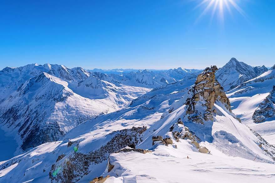 Hintertux Glacier Panorama