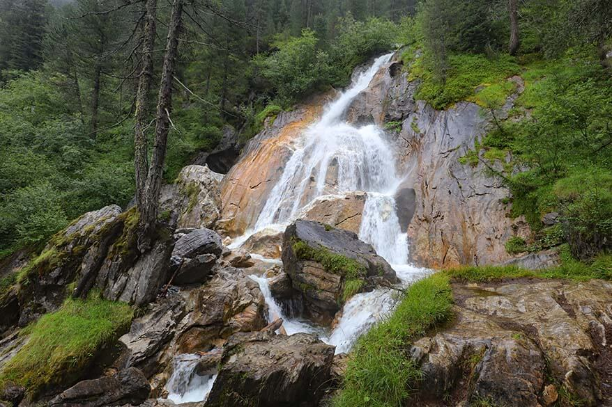 Hintertux Waterfall