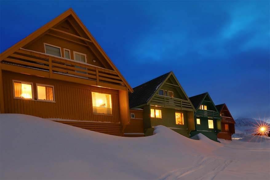 Longyearbyen in February