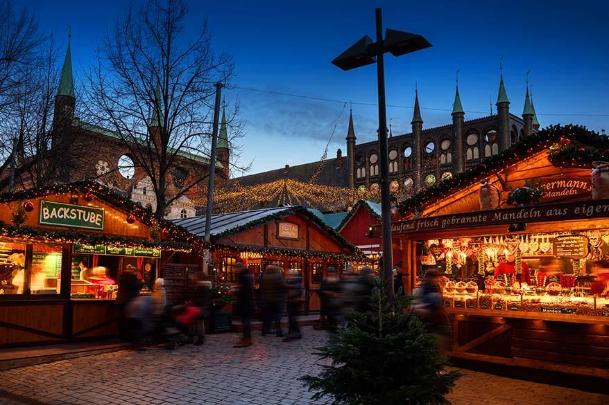 Luebeck Christmas market