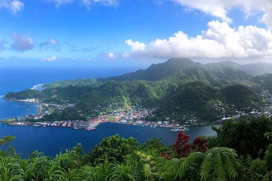 Mt Alava Summit in the National Park of American Samoa