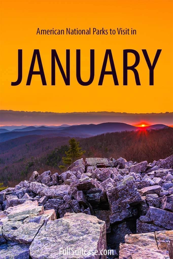 National Parks January