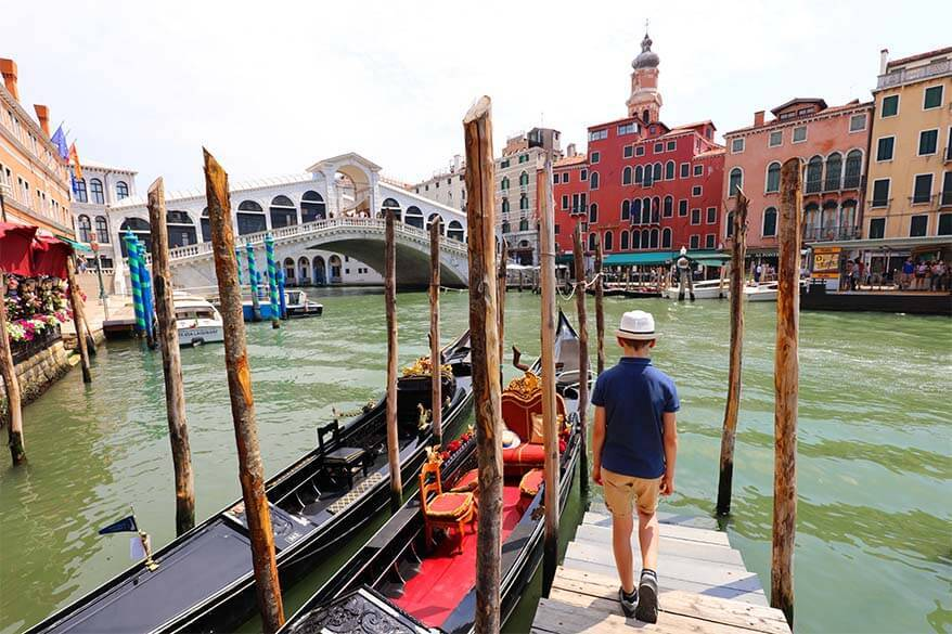 One day in Venice - Grand Canal and Rialto Bridge are not to be missed