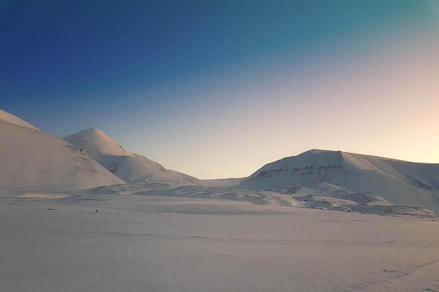 Spitsbergen in February