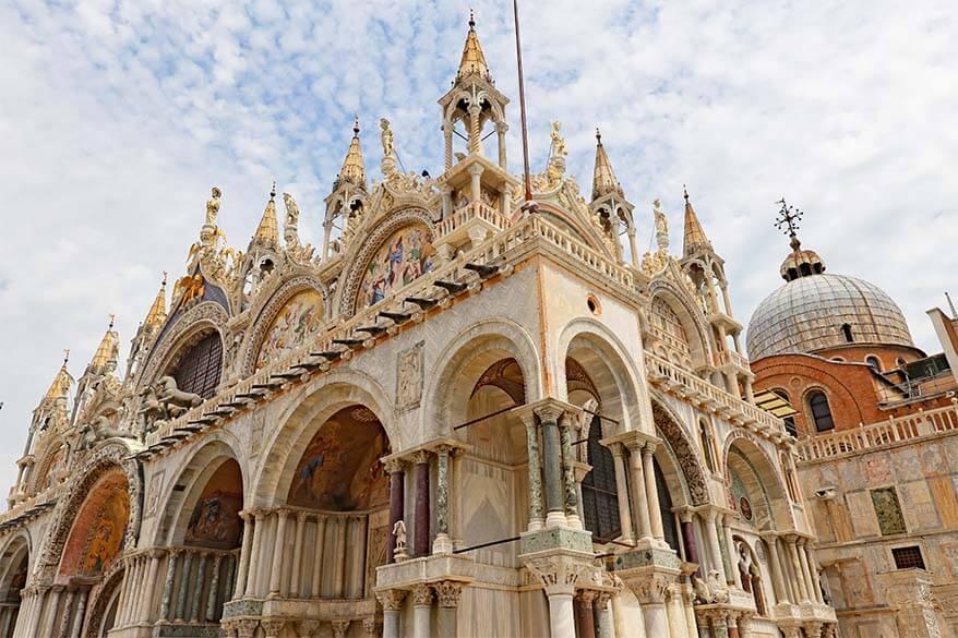 St. Mark's Basilica (Basilica di San Marco) in Venice