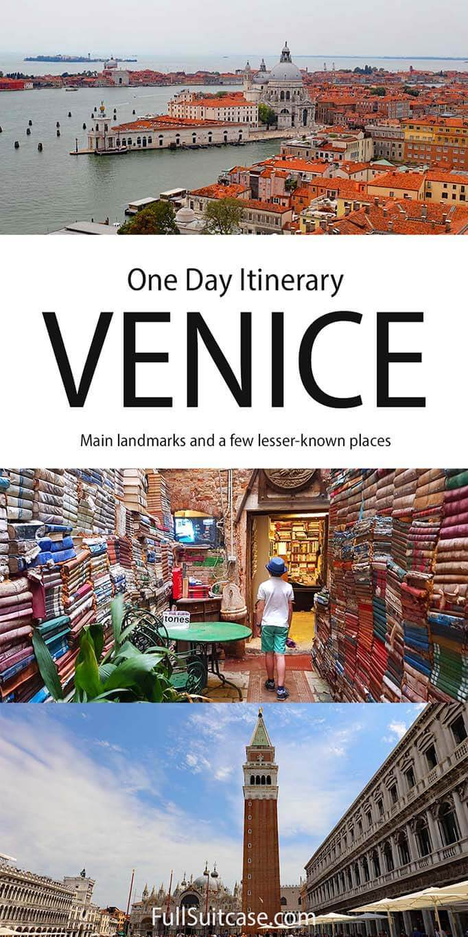 Venice itinerary for one day