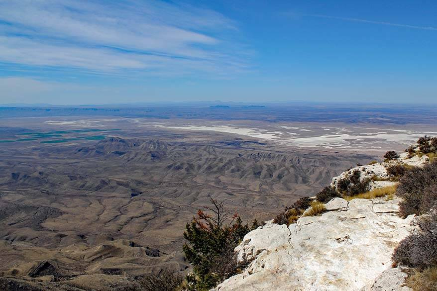 Views from Guadalupe Peak