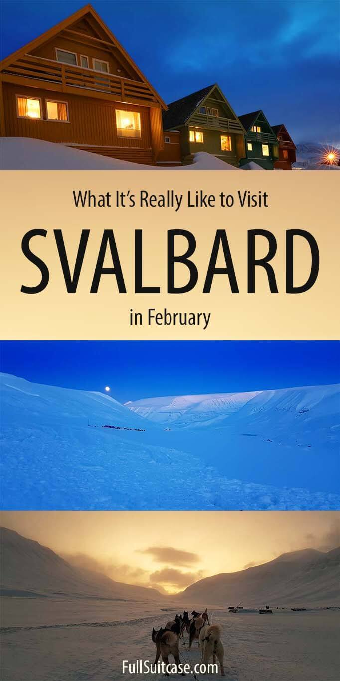 What to expect when traveling to Svalbard in February