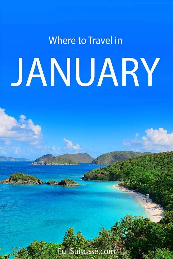 Where to travel in January