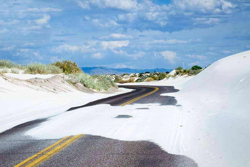 White Sands National Park Scenic Road