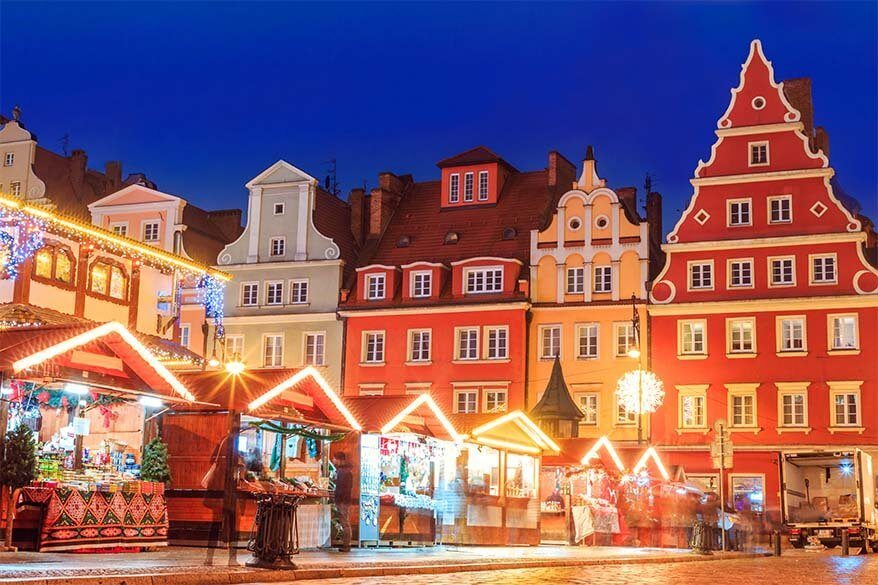 Wroclaw Christmas market - Europe Christmas markets hidden gem