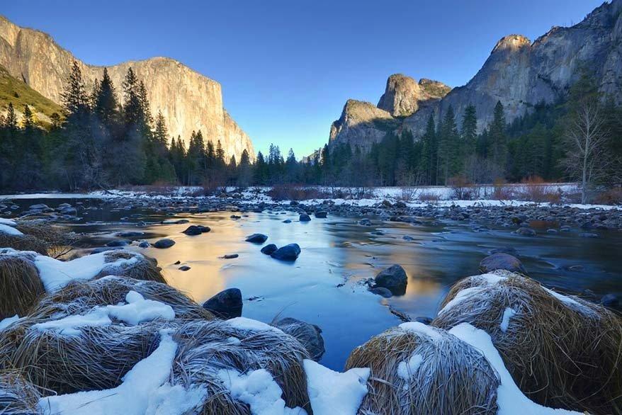 Yosemite in February