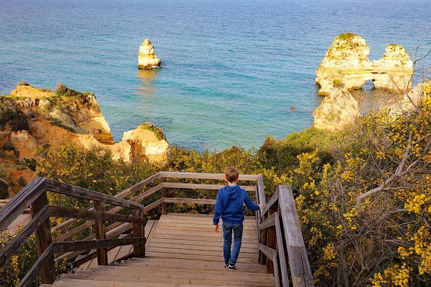 Algarve in Portugal in early spring