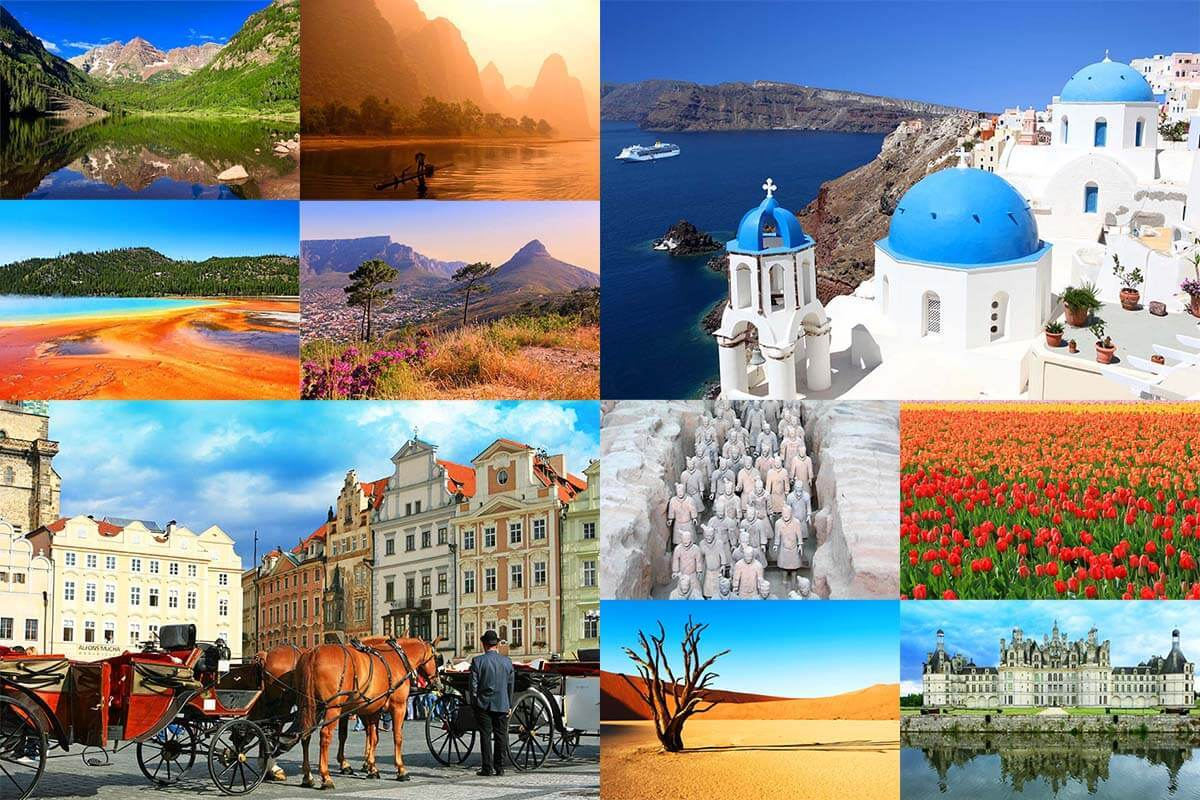 43 Amazing Destinations Worldwide – Our Favorite Places from 18 Years of Traveling