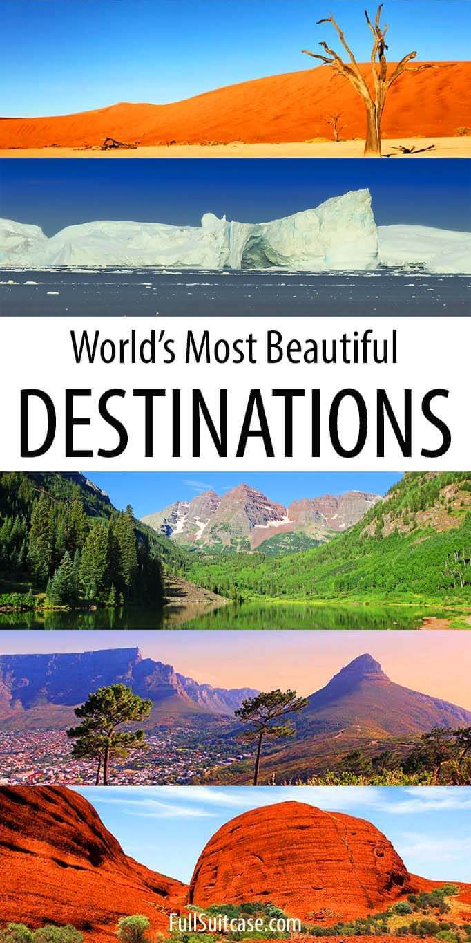 Amazing destinations worldwide - our favorite places to travel