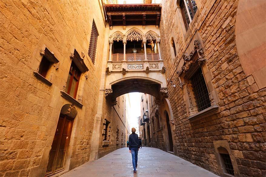 Barcelona in late October