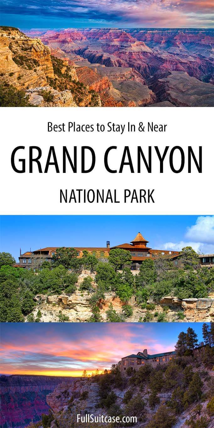 Best places to stay in Grand Canyon National Park