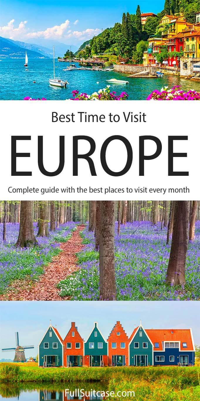 Best time to go to Europe