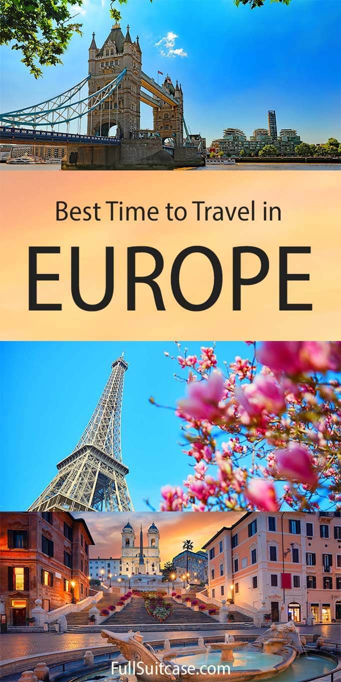 Best time to travel in Europe