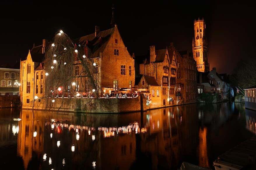 Bruges Belgium in December