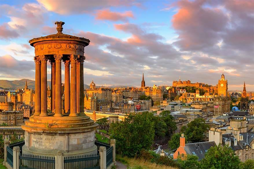 Calton Hill Edinburgh