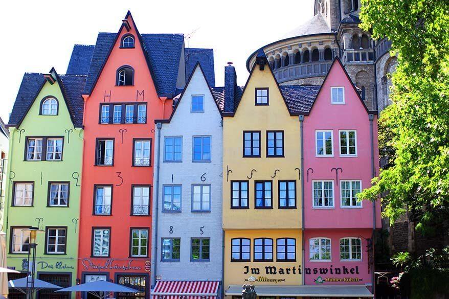 Cologne in Germany in June