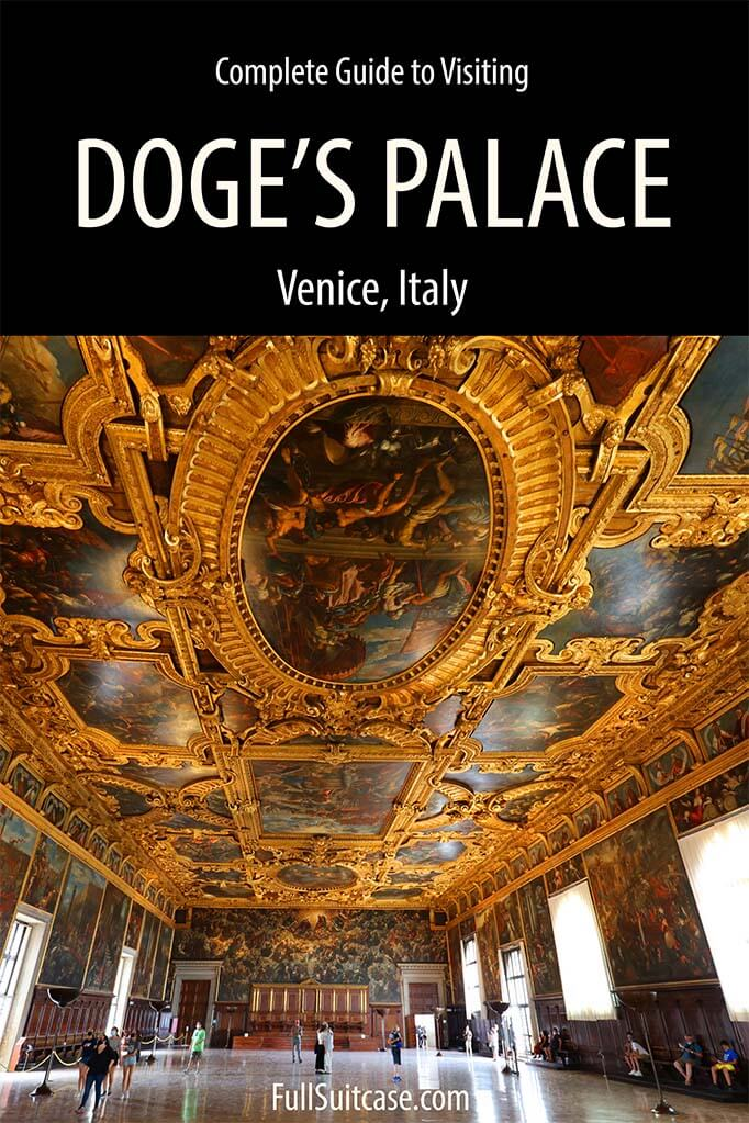 Complete guide to visiting Doges Palace in Venice Italy