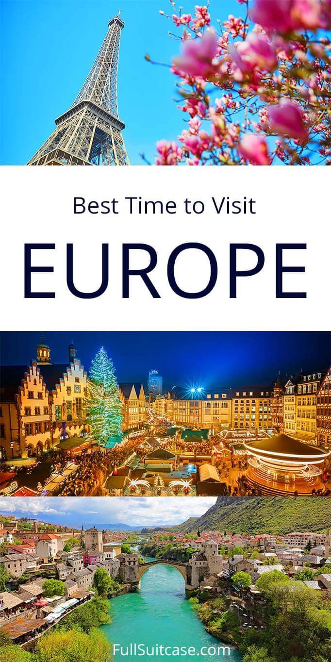 Best time to visit Europe and where to go in every season