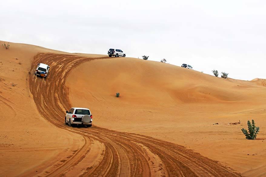 Dubai 4x4 desert safari is fun for the whole family