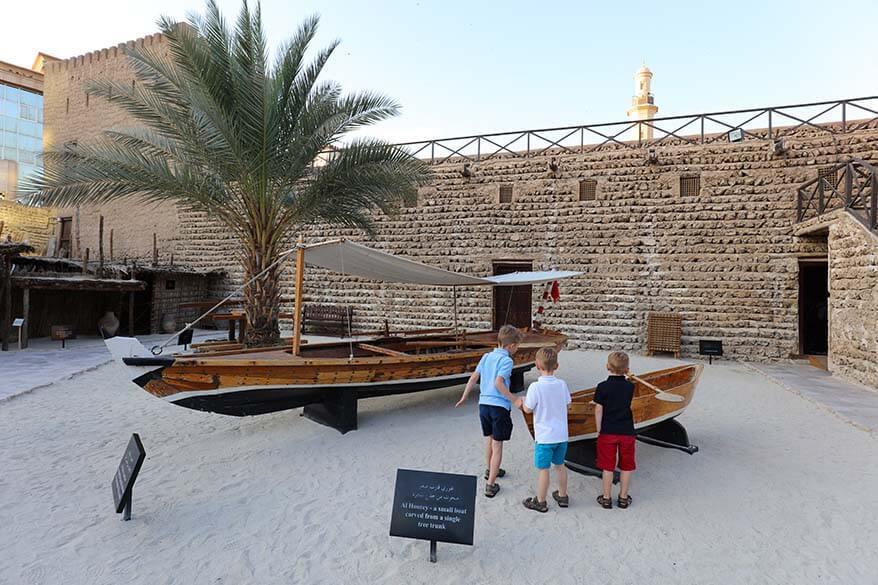 Dubai Museum with kids