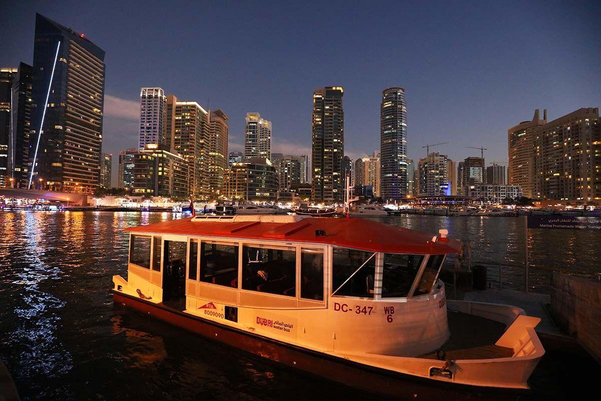 Dubai public transport guide for tourists