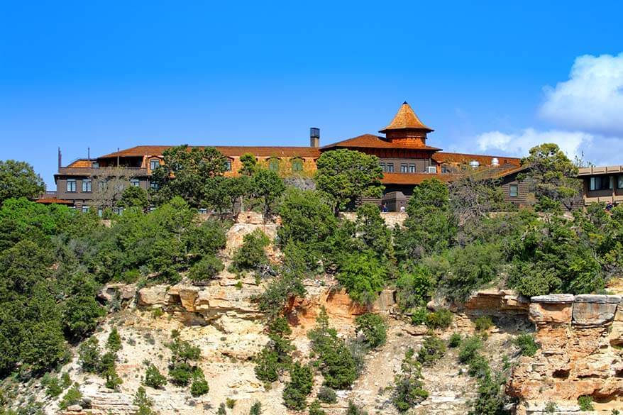 El Tovar Hotel in Grand Canyon National Park