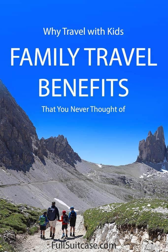 Family travel benefits
