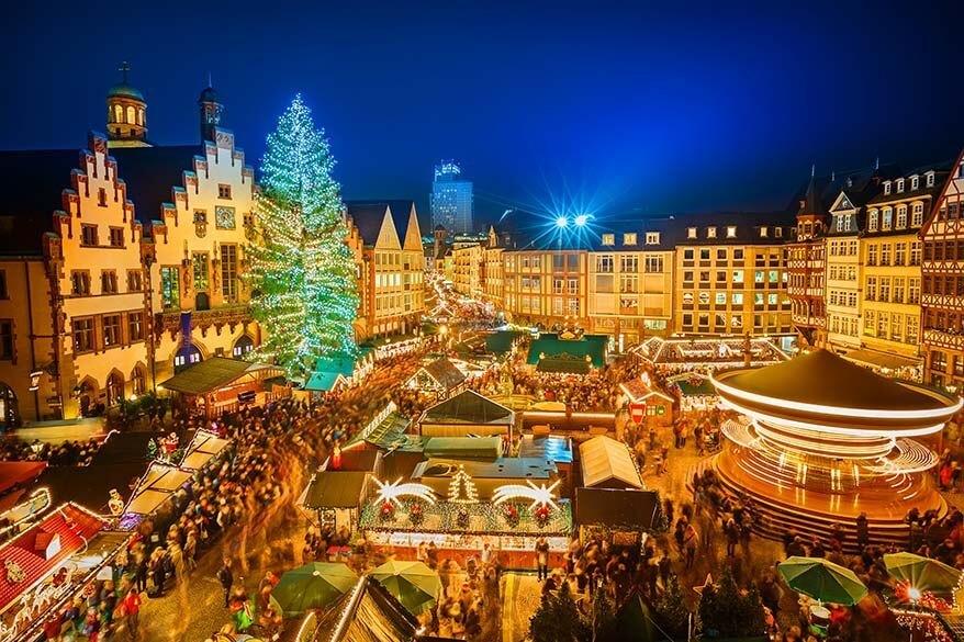 Frankfurt Christmas Market in Germany