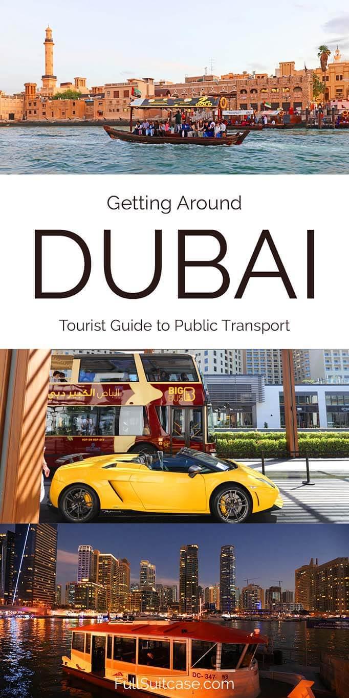 Getting around Dubai - public transportation guide for tourists