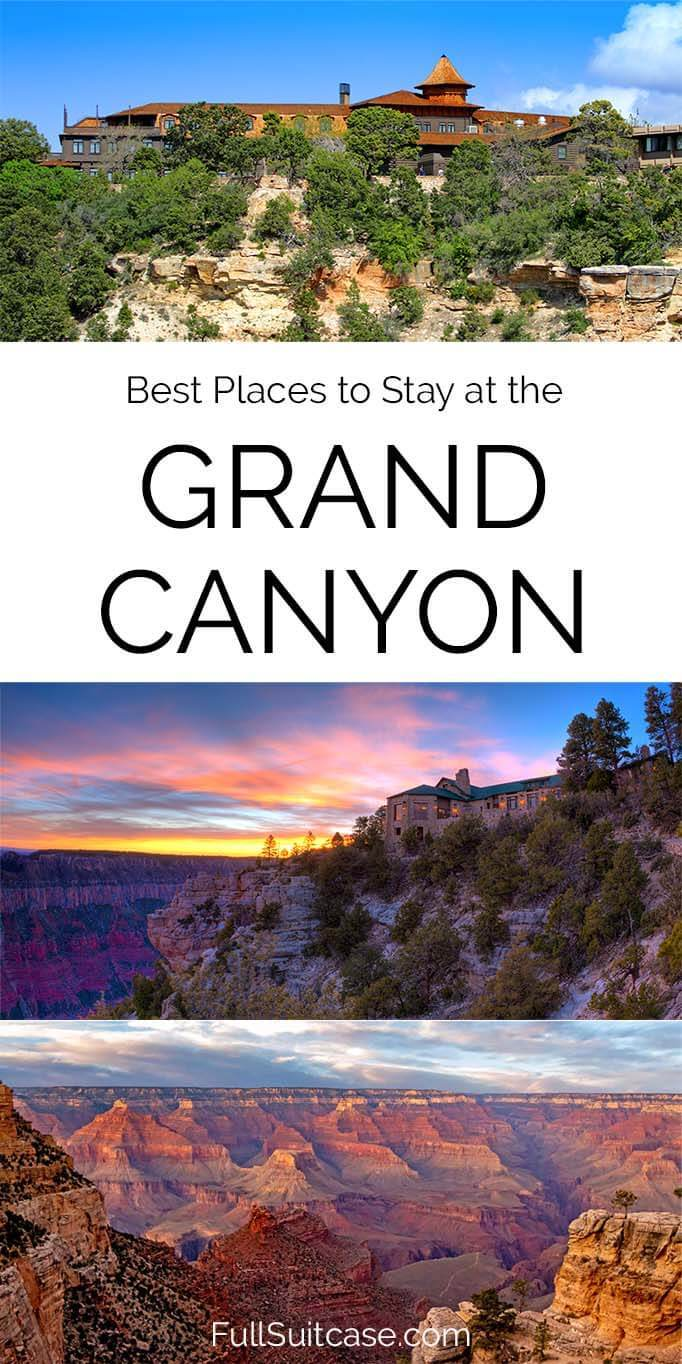 Grand Canyon hotels and accommodation guide