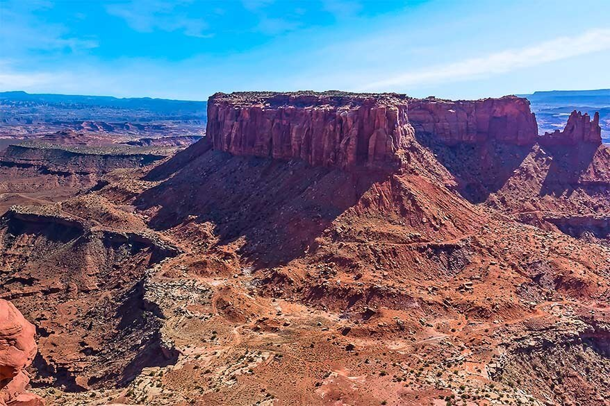 Grand View Point Overlook Canyonlands National Park