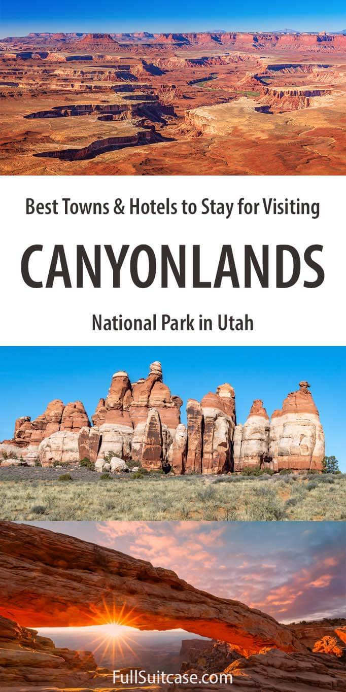 Guide to Canyonlands National Park hotels and lodging