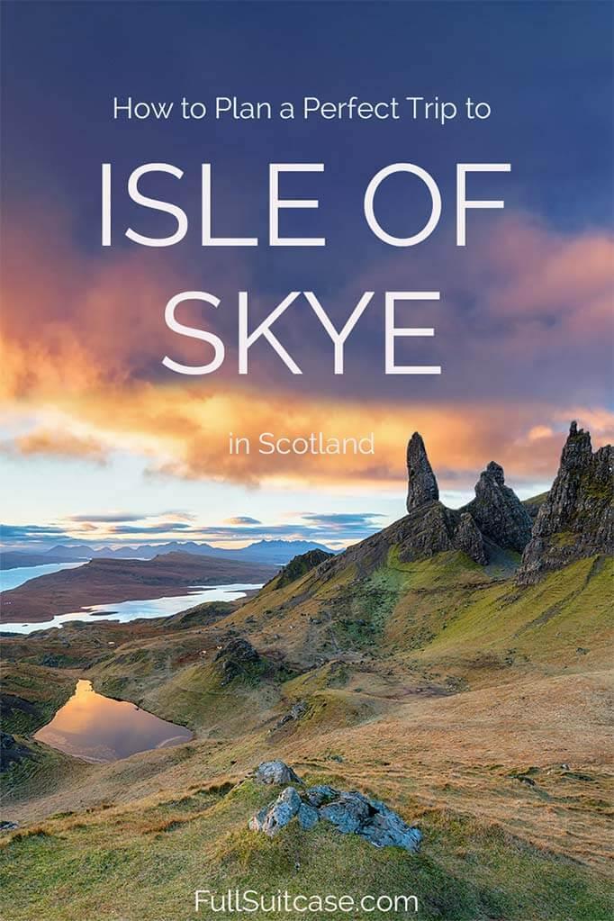 How to visit Isle of Skye Scotland