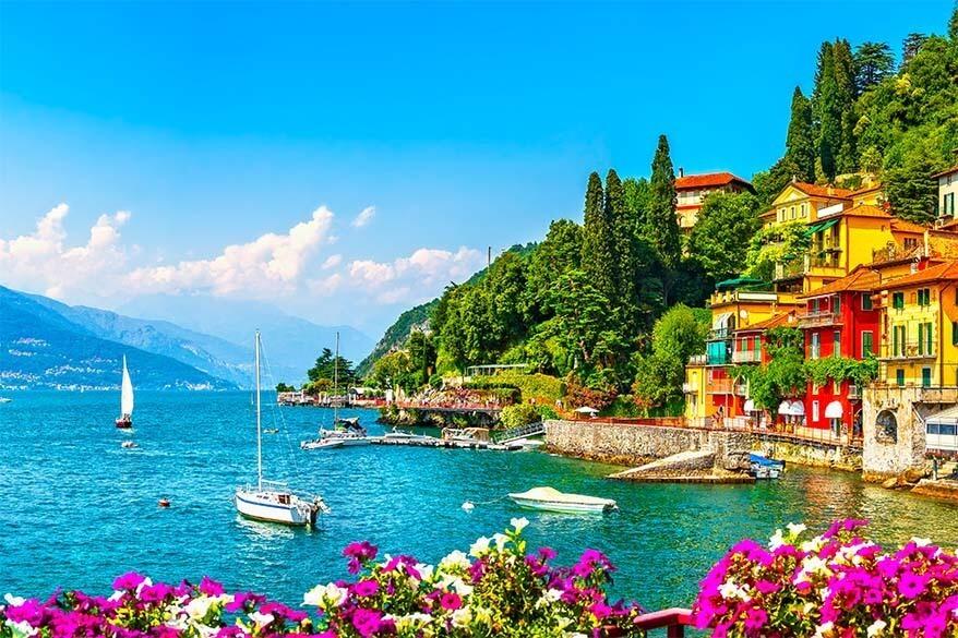 Lake Como in July