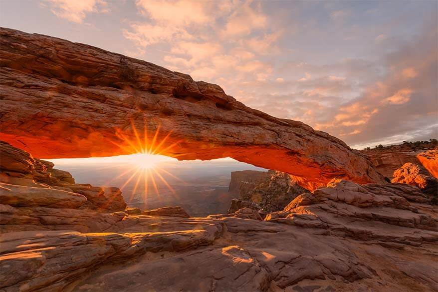 Mesa Arch Island in the Sky Canyonlands